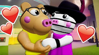 Pony Falls In Love With Zizzy?! ( A Roblox Piggy Movie)