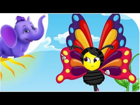 Butterfly, Butterfly - Nursery Rhyme with Karaoke
