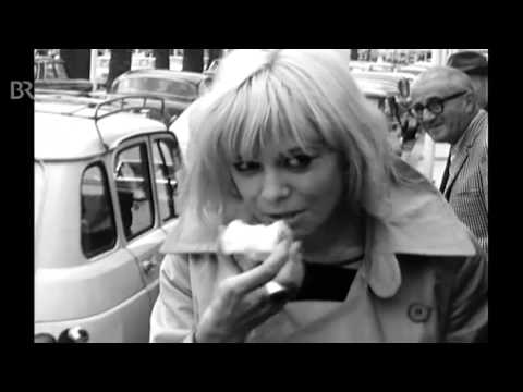 Anita Pallenberg in Cannes (rare footage)