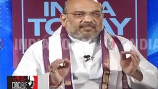 Amit Shah Exclusive At India Today Conclave 2017 |  The One To Beat : New Pole of Indian Politics