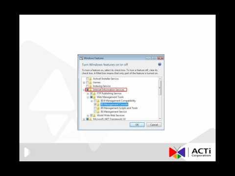 IIS Installation Process in Vista