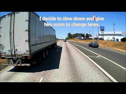 Idiot Trucker and Moron Pick-up Driver