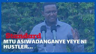 Governor Alfred Mutua tells youths to abandon DP Ruto\'s hustling bandwagon