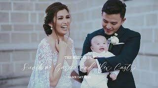 Sunshine Garcia and Alex Castro   On Site Wedding Film by Nice Print Photography