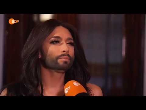 Conchita Wurst interview ZDF