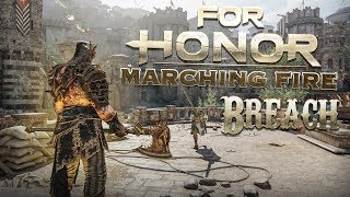 FOR HONOR: Reputation 60 Raider Breach Gameplay! - Marching Fire Open Test