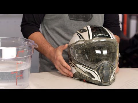 e37ffca5 How To Clean & Maintain Your Motorcycle Helmet at RevZilla.com - YouTube