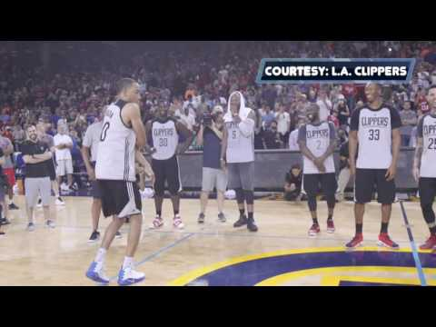 2016-2017 Clippers Rookie Dance-Off