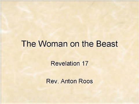 The Woman on the Beast   Revelation 17