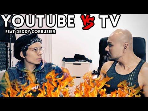 YOUTUBE VS TV - ATTA X DEDDY - Tayangan Dewasa (Anak2 Gangerti)