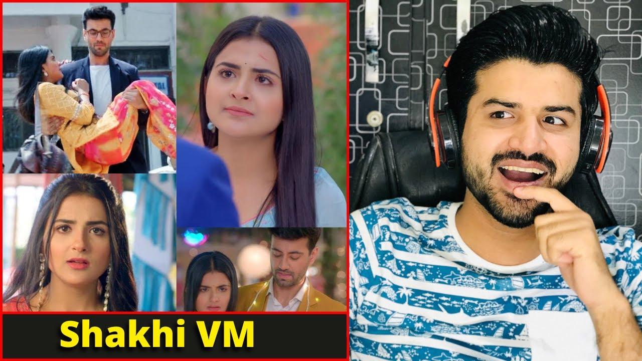 React on Shakhi VM | Shaurya Aur Anokhi Ki Kahani Debattama Saha & Karanvir Sharma | Zafar Reaction