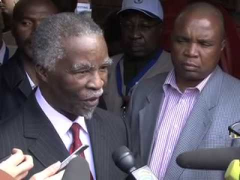 Thabo Mbeki votes