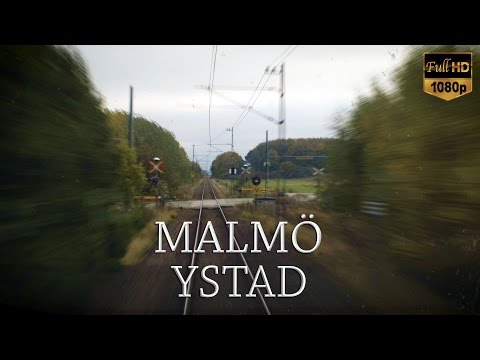 Train Driver's View: Malmö-Ystad