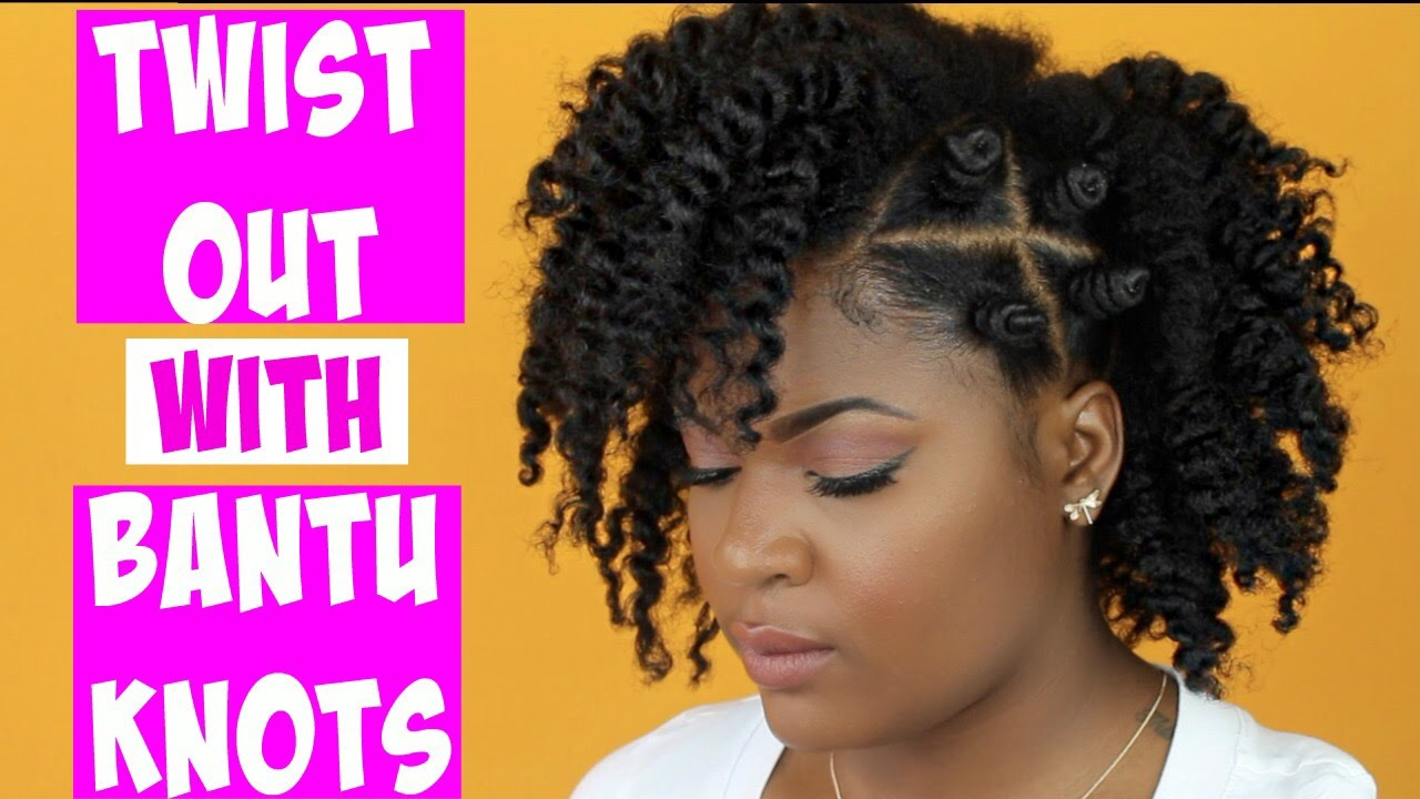 how to:twist out with bantu knots/natural style | #trophdophwantsthatlook 🏆
