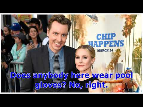 °Dax Shepard Reacts to Wife Kristen Bells Pool Gloves | Entertainment Tonight