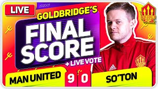 GOLDBRIDGE! Manchester United 9-0 Southampton Match Reaction