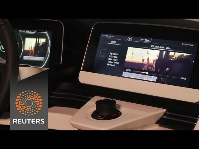 Car parts firms race to make 'virtual cockpits'