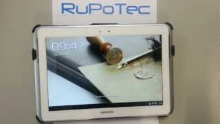 PIN secure and screen lock for Tablet Samsung Galaxy Note 10.1 Android. Update