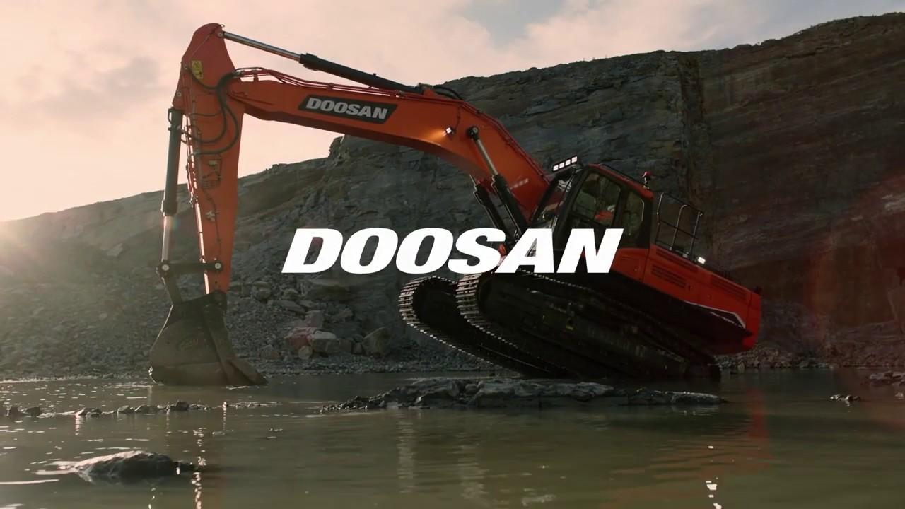 DX300LC-7, DX350LC-7, DX380LC-7 – три нові гусеничні екскаватори Doosan