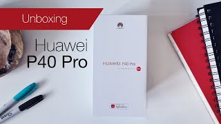 Huawei P40 Pro unboxing and setup with Phone Clone