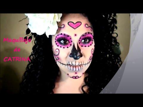 maquillaje catrina facil