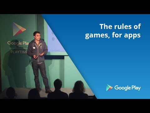 The rules of the games, for apps
