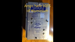 Scrapping an Amp for Aluminum and Gold! -Moose Scrapper