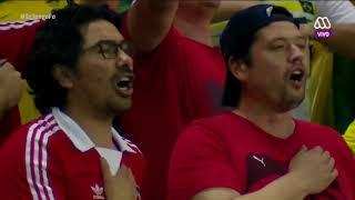 Chile vs Brasil, primera parte, 10 de octubre de 2017