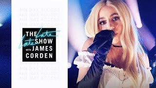 Ava Max — Sweet But Psycho (Live at The Late Late Show with James Corden)