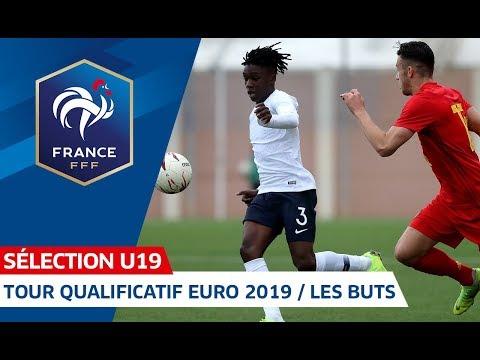 U19 : Tour qualificatif Euro 2019 - Tous les buts I 2018-2019