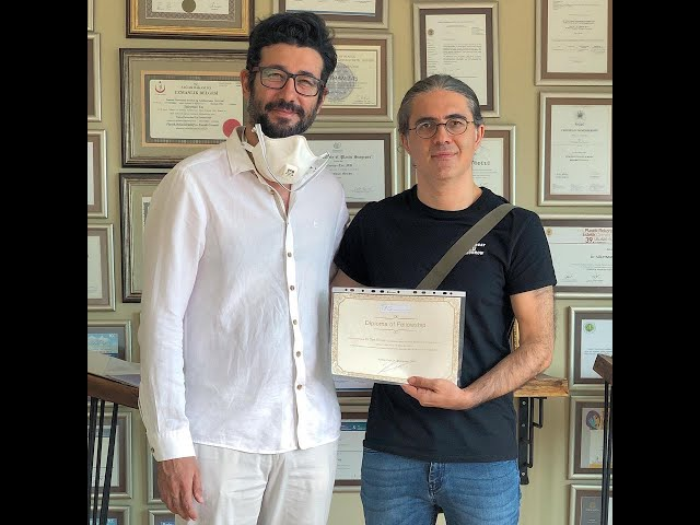Closed atraumatic rhinoplasty fellowship program by dr. Tas with dr. Can ercan