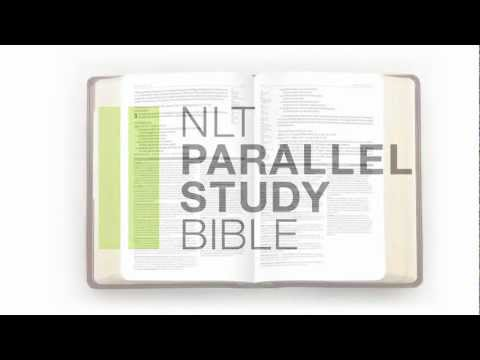 Introducing the New NLT Parallel Study Bible.
