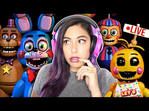 LADIES NIGHT 2 - FNAF: Ultimate Custom Night LIVE
