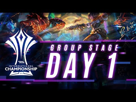 AIC 2018 | Thailand Group Stage - Day 1
