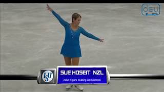 Sue HOSEIT. Oberstdorf 2018. Silver Ladies V - Free Skating. 4 place
