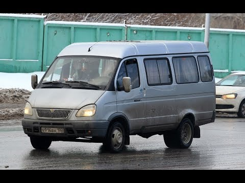 """ГАЗ 3221""""ГАЗЕЛЬ"""" 2003 гг. Автобус 15 мест 1/43 АВТОТАЙМ."""