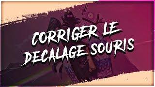 CORRIGER LE DÉCALAGE SOURIS SUR FORTNITE EN 4/3 !