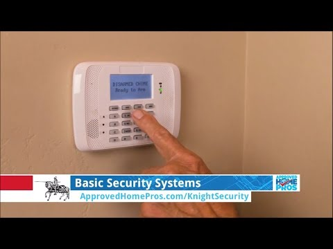Basic Home Security Systems