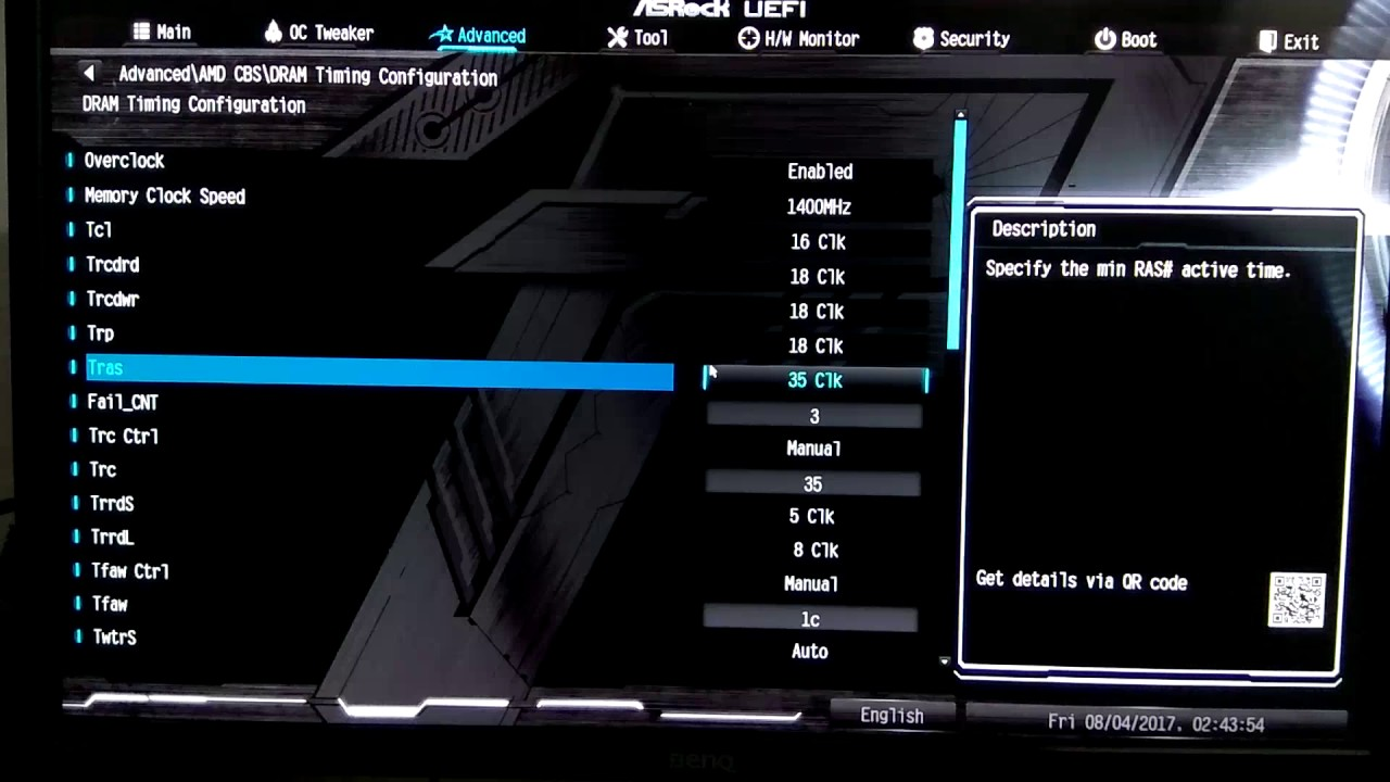 Guia de Overclock para memorias Ram Asrock B350M Pro4 + Corsair Vengeance  LPX 2666