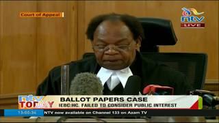 Court okays printing of presidential ballots