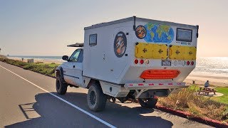 EP:10 Return to the DODGEMAHAL - Driving the Pacific Coast Highway in a Truck Camper