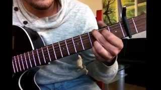 Leichte Lieder für Gitarre lernen / Oasis - Wonderwall