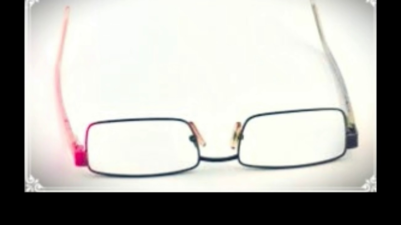 Find How to Adjust Eyeglass Frames at Home It\'s Not Difficult - YouTube