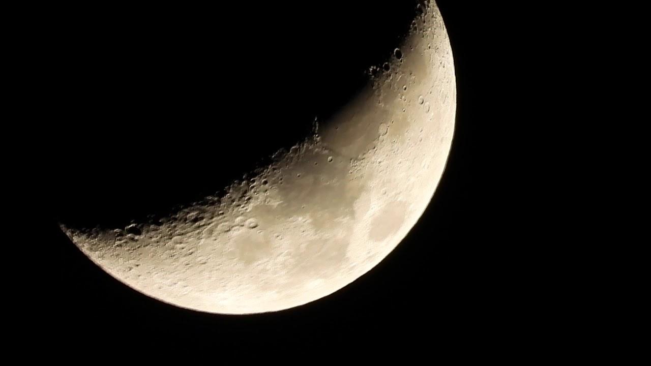 Zooming at Moon