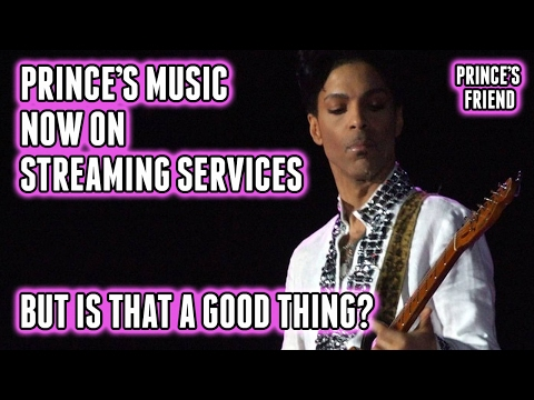 Prince's Music Now on Streaming Services - Apple Music, Spotify, Etc.