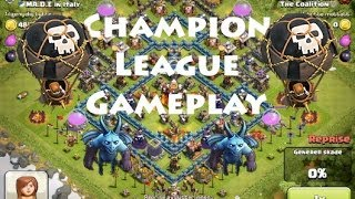 Clash of Clans- Champion League Gameplay PLUS RAID ON MOLT