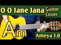 O O Jaane Jaana  guitar cover