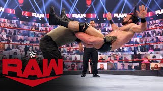 Drew McIntyre vs. Braun Strowman: Raw, April 26, 2021