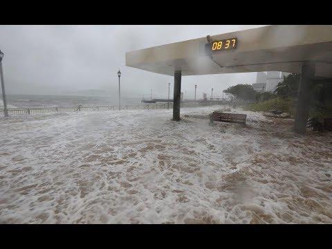 Mangkhut Typhoon Hong Kong, Macau, Phillipines