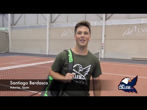 Santiago Berdasco - College tennis recruiting video Fall 2019